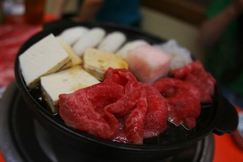 牛鍋(Sukiyaki)