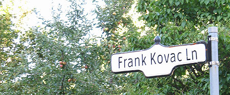 Frank Kovac Lane