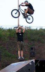 High Jump Biker