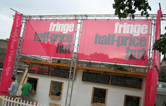 Edinburgh Festival Fringe Half Price Hut
