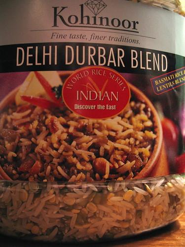 rice + lentils