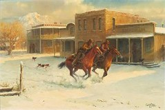 Sunbeams And Snowdust by Barbara Garvin