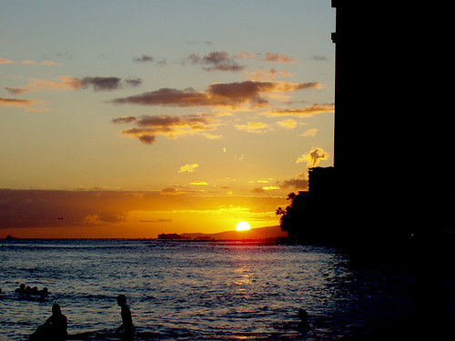 Sunset on Waikiki
