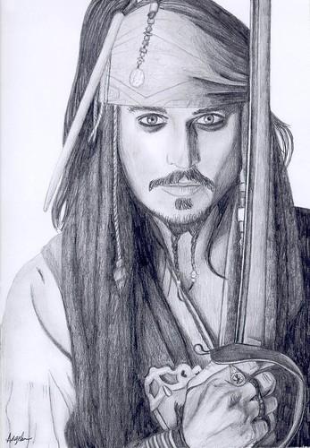 Johny Depp as Capt Jack