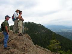 On a Bear Mountain overlook