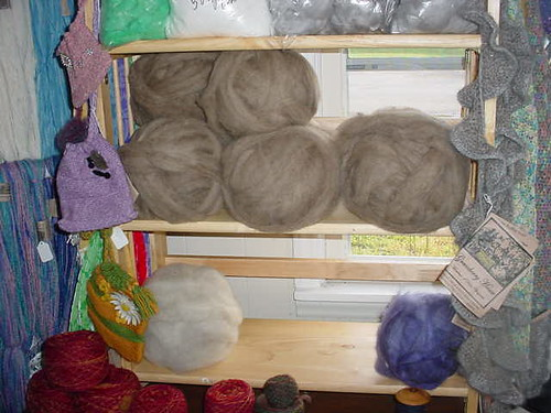 Corriedale Roving and Shetland