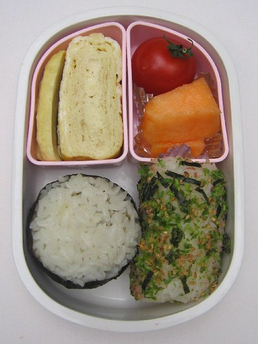 Onigiri lunch お弁当