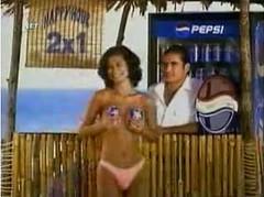 pepsi cola, coca cola, vending machine, sexy girl