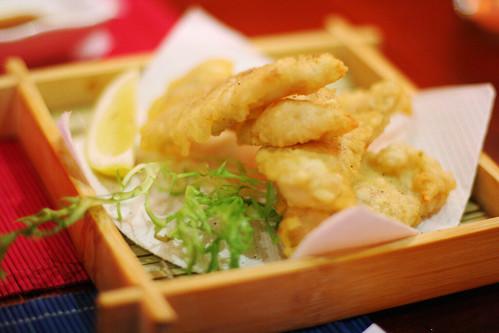 catfish tempura