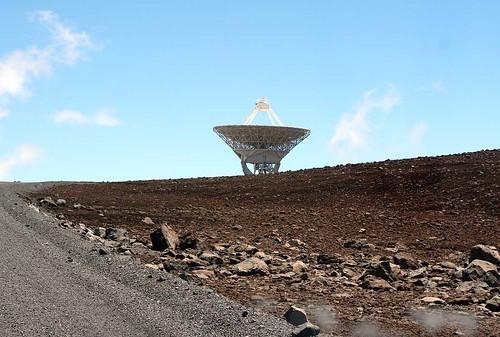 Dish on Mauna Kea