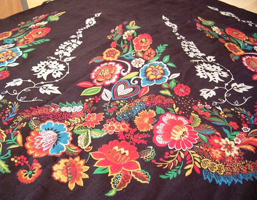 Circle skirt fabric