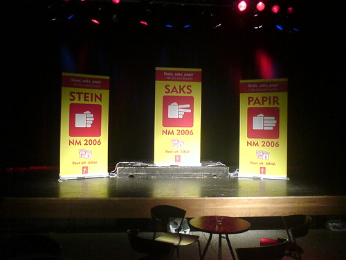 Stage in Volda