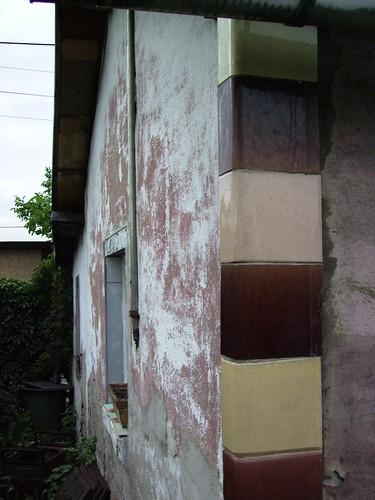 Gartenhaus Rückwand