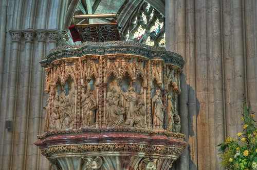 Worcester Cathedral Pulpit