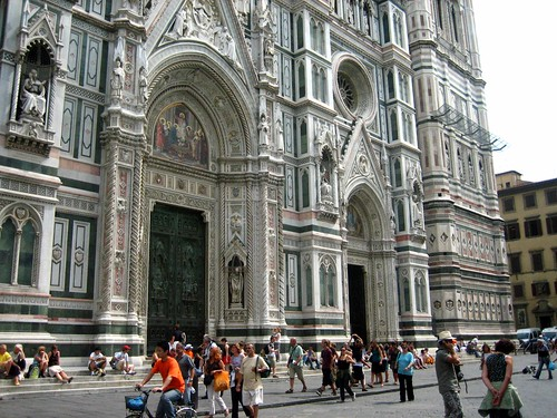 The duomo in August