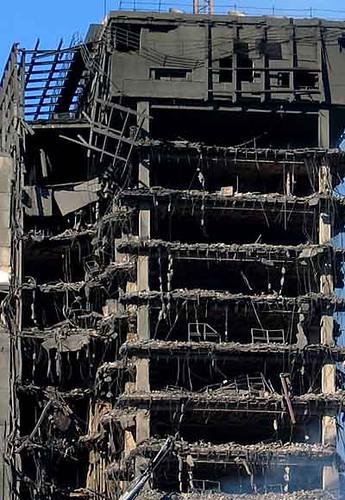 Undicisettembre la torre windsor a madrid for Piani di cabina della torre di fuoco