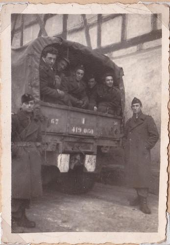 Hiver 1945 -Alsace- BM 21 à Uttenheim  - Col. P. Ruiz
