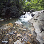 Enjoy the streams, waterfalls & lakes in the Notch on this sunny Saturday!