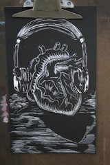 Surreal Scratchboard, Andy Nguyen. photo by Cavalier Art RM 204