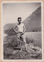 Mai 1945- Italie - Jean Bernhardt Moiola, Italie, la Stura _ Moiola, Italie-  - Col. P. Ruiz