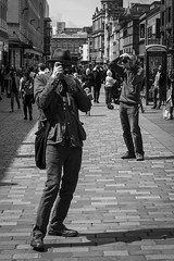 Too Many Street Photographers Spoil The Shot photo by Leanne Boulton