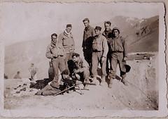 Printemps 1945 - Authion - BM 21 au Col de Raus -  Col. P. Ruiz