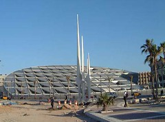 كتابخانه مدرن اسكندريه مصر