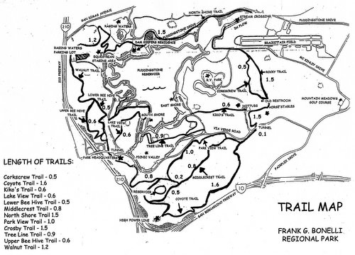 Bonelli Trail Map