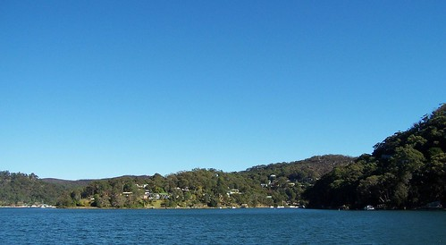 Horsfield Bay & Correa Bay from Rawson Road jetty Woy Woy