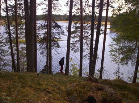 Lago y Mathilde