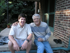 Dad and I on the back porch