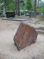 Gravestone at Sodankyl� Graveyard