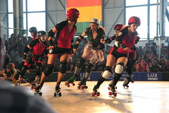 Rat City Roller Girls Series:  Jamming
