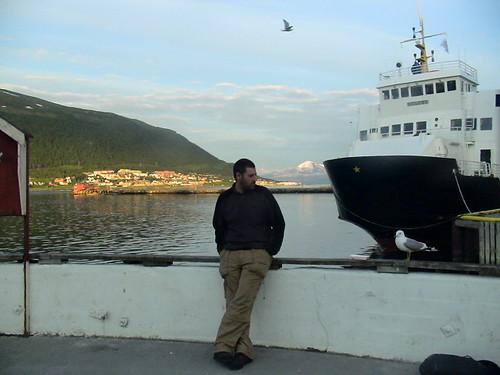 The Midnight Sun in Tromsö, Norway