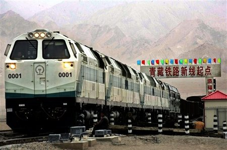 CHINA TIBET RAILWAY 002