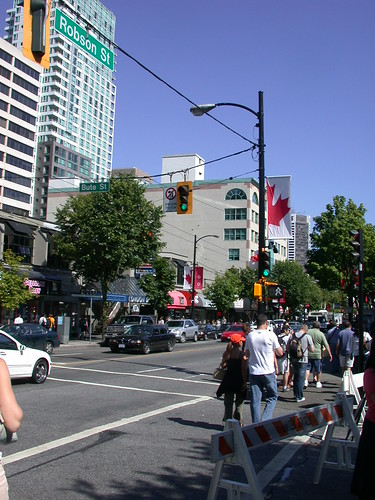 Robson St. Vancouver