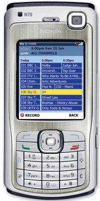 Skys new mobile EPG