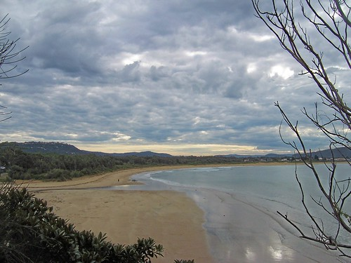Umina Beach & the mouth of Ettalong Creek