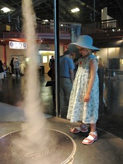 Tornado exhibit at Exploratorium
