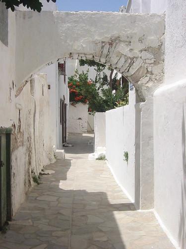 Street, Hora, Naxos