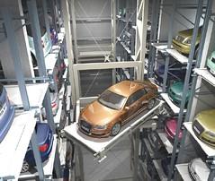 robotic parking robotizado