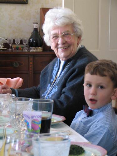 Dot & Eli--Easter 2005