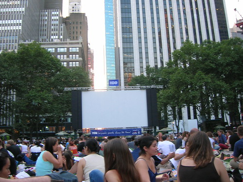 bryant park movies