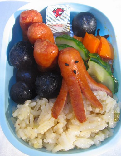 Octodog toddler lunch お弁当