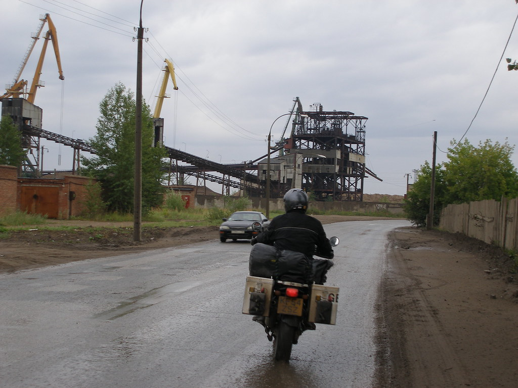Riding into Perm (photo 2)