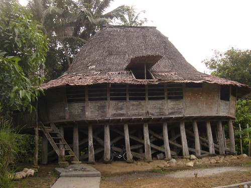 Round Traditional House