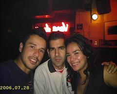 Carlos, Edualdo y MoNo