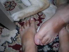 feets!