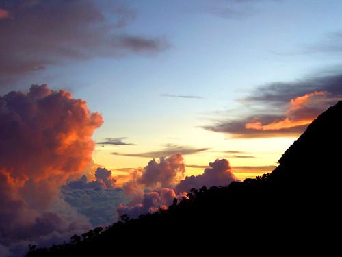 sunset at laban rata