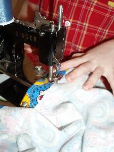 Cowboy Sewing